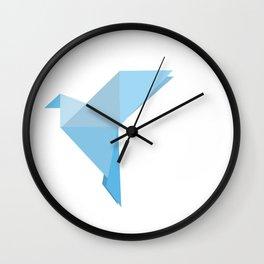 Taking Flight Origami Wall Clock