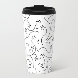 Meadow in Abstract Travel Mug