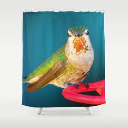 One of the Girls Shower Curtain