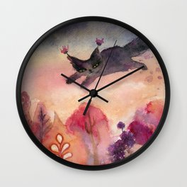 Lucy's Dream Wall Clock