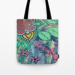 Flower Show Tote Bag
