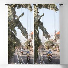 Tropical Road On Bali Island Art Print   Summer Holiday Photo   Digital Indonesia Travel Photography Blackout Curtain