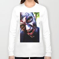 zombies Long Sleeve T-shirts featuring Zombies ! by bobbierachelle