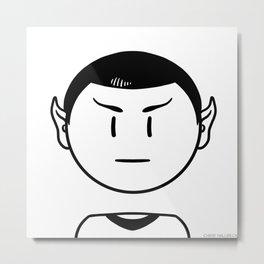 Star Trek: Mr. Spock Metal Print