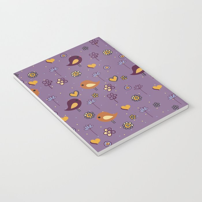 Cute Pattern Notebook