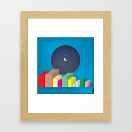 (ISO)TOPIA Framed Art Print