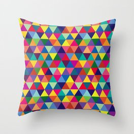 Geometric Pattern #6 Throw Pillow