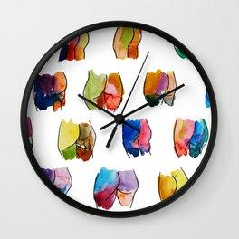 Butts Wall Clock