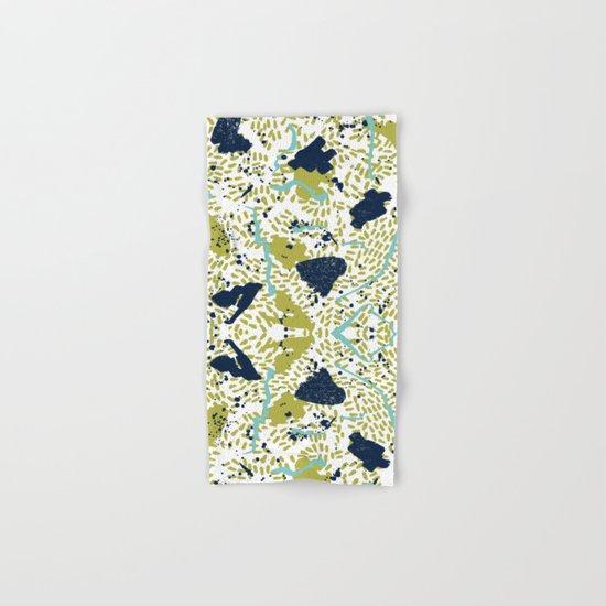 Trenton - modern minimal abstract painterly palette urban brooklyn cali city beach painting dorm  Hand & Bath Towel