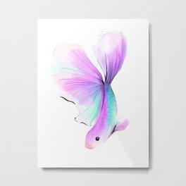 Rainbow Fish no 2 Metal Print
