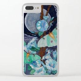 Vida de la Luna Clear iPhone Case