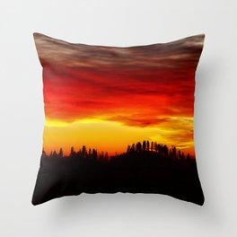 Sierra Sunrise ~ Yosemite National Park     1/3/14 Throw Pillow