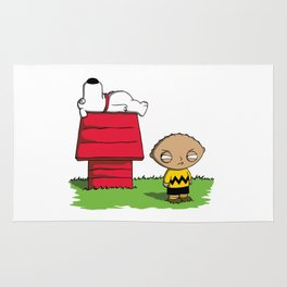 Peanuts Guy Rug