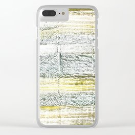 Lotion abstract watercolor Clear iPhone Case