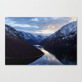 Fjords of Norway Canvas Print