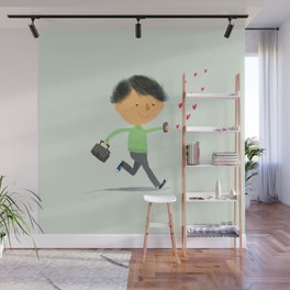 Boy in Love #3 Wall Mural