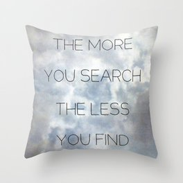 Search & Find Throw Pillow