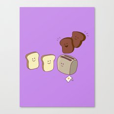 Toasty Business! Canvas Print