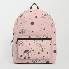Winter Pattern Backpack