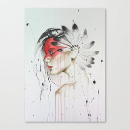 Jay Freestyle - Native American Canvas Print