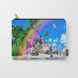 Beach Rainbow Carry-All Pouch