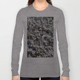 Shucked Oyster Shells Long Sleeve T-shirt