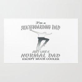 I'm a Skateboarding Dad Rug