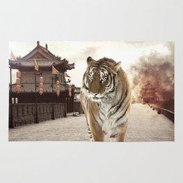 Tiger Mattepainting Rug