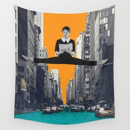 Uptown Girl Wall Tapestry