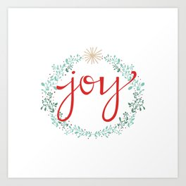 Holiday Joy Art Print