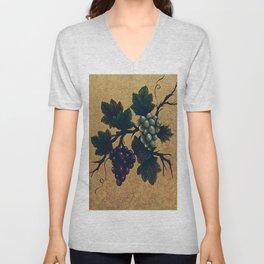 """""""Tuscan grapes"""" Unisex V-Neck"""