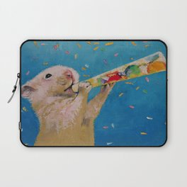 Happy Hamster New Year Laptop Sleeve