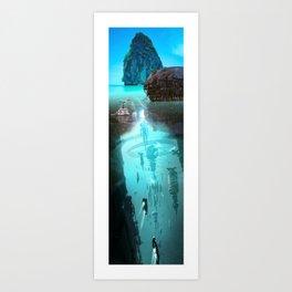 Mochila: Water Underwater Art Print