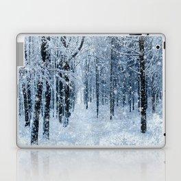Winter wonderland scenery forest  Laptop & iPad Skin