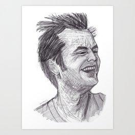 Jack (MacMurphy) Art Print