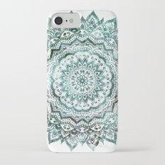 Emerald Jewel Mandala iPhone 7 Slim Case