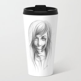 Keep smiling for me Travel Mug