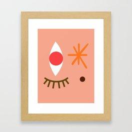 Bright Eyed & Bushy Tailed Framed Art Print