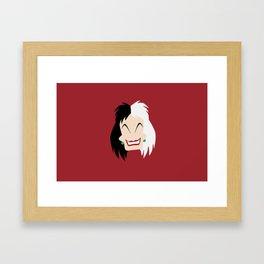 101 Dalmations - Cruella De Vil Framed Art Print