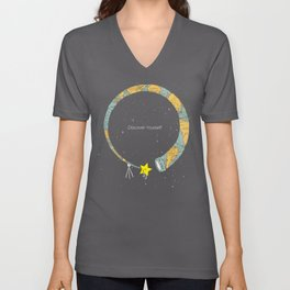Discover yourself Unisex V-Neck