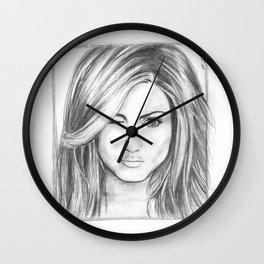 Jennifer Aniston Wall Clock