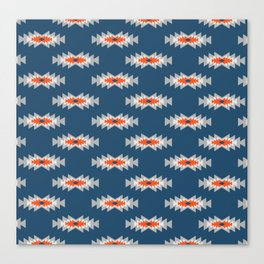 Minimal ethnic pattern Canvas Print