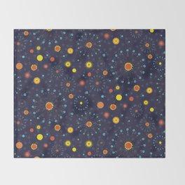 Solar Eclipse ~ Mystical Throw Blanket