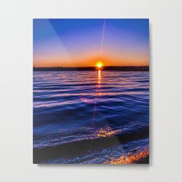 Just a blue moment Metal Print