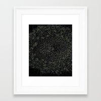 sacred geometry Framed Art Prints featuring Sacred Geometry by Wghdesign