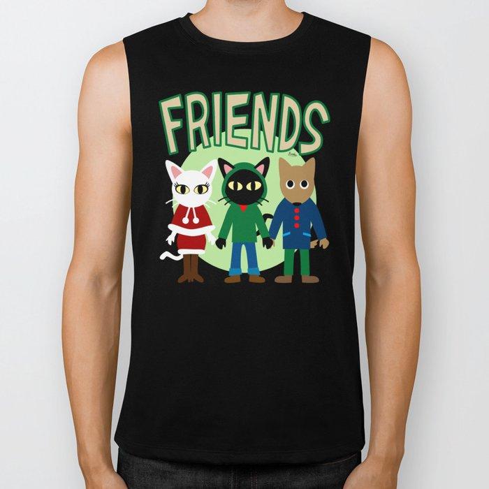 Whim's Friends Biker Tank