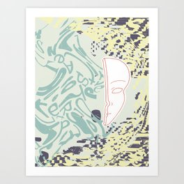 overwhelm IV Art Print