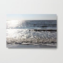 Sea Sullivan's Island, South Carolina Metal Print