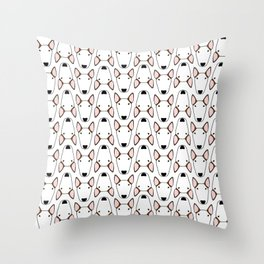 Luna Gridlock Throw Pillow