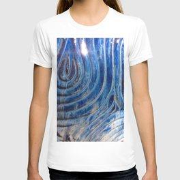 Blue zen T-shirt